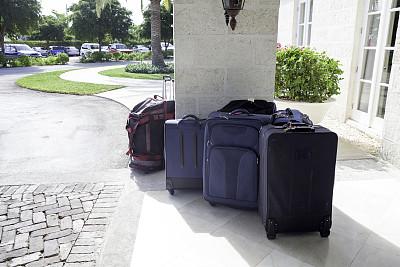 行李,等,酒店,未来,提举,轮式行李,酒店服务台,留白,车轮,重的