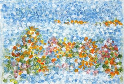 抽象,背景,式样,水平画幅,绘画艺术品,地形,无人,蓝色,绘画插图