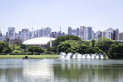 伊比拉布尔拉公园,圣保罗州,巴西,圣保罗球场,方尖石塔,圣保罗,城市生活,美术工艺,景观设计,环境
