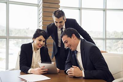 体育团队,办公室,留白,水平画幅,工作场所,会议,人群,商务关系,商务会议,白人