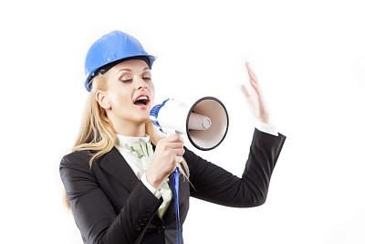 建筑业,女性,商务人士,动作,学员,水平画幅,噪声,套装,白人,工业