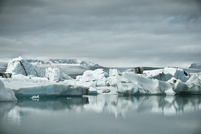 冰山,杰古沙龙冰川湖,史卡法特,杰古沙龙湖,北大西洋,瓦特纳冰原,冰岛中南部,冰川泻湖,水,气候
