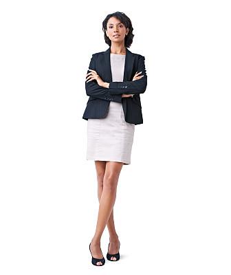 信心,商务,时尚,全身像,认真的,职权,肖像,垂直画幅,留白,智慧