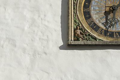 塔林,爱沙尼亚,记时卡片,水平画幅,墙,无人,雕刻物,欧洲,古城