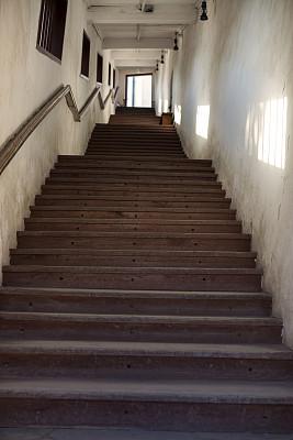 走廊,楼梯,卡齐米日多尔尼,波兰,天国的阶梯,苦尽甘来,垂直画幅,台阶,灵性,复活节