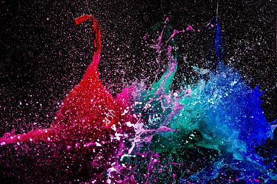 水,灵感,水平画幅,绿色,无人,蓝色,纯净,特写,明亮