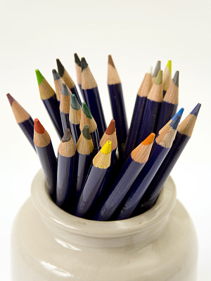 铅笔,水彩画,垂直画幅,留白,艺术,无人,手艺,背景分离,水彩颜料,特写
