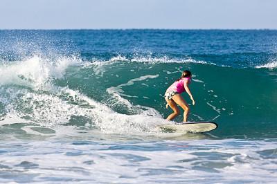 莫桑比克,查济,水,女人,水平画幅,印度洋,非洲,冲浪板,成年的,冲浪