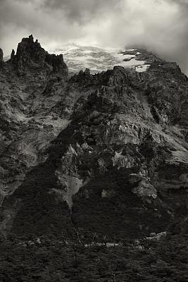 地形,巴塔哥尼亚,山,阿根廷冰川国家公园,自然,垂直画幅,阿根廷,无人,圣克鲁斯省,户外