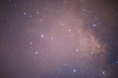 天空,夜晚,星形,背景,星迹,银河系,新月形,大波斯菊,午夜,星系