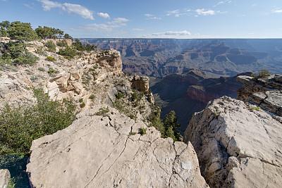 大峡谷,大峡谷南缘,美国西部,水平画幅,无人,岩层,户外,石头,著名自然景观,国际著名景点