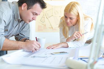 办公室,青年人,建筑师,30到39岁,水平画幅,白人,男商人,经理,男性,仅成年人