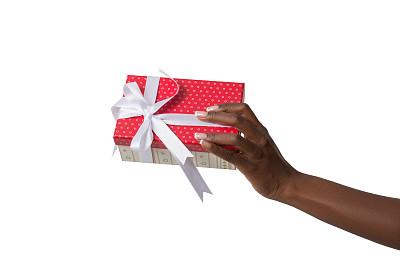 人,包装纸,手牵手,土耳其人,留白,水平画幅,生日,非裔美国人,圣诞礼物