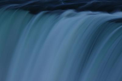 夜晚,尼亚加拉瀑布,马蹄铁瀑布,尼亚加拉河,水,旅游目的地,水平画幅,无人,黄昏,灯