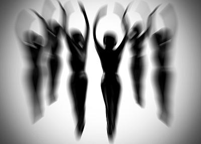 抽象,芭蕾舞,晕影效果,人体,迅速变焦效果,现代舞,芭蕾舞者,艺术,水平画幅,优美