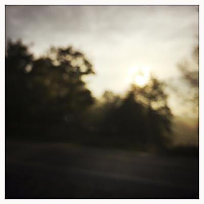 散焦,路边,黎明,在移动设备上拍摄,自然,灵性,宁静,地形,无人,路