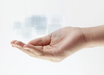 指纹,未来,四肢,智慧,计算机软件,经理,想法,白色,高处,按键