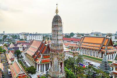 玉佛寺,泰国,宫殿,曼谷,水平画幅,无人,户外,僧院,过去,佛塔