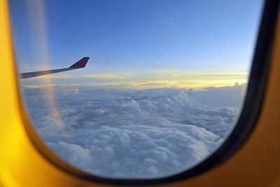 机翼,平衡折角灯,军用机,天空,风,水平画幅,无人,户外,交通方式,航空业