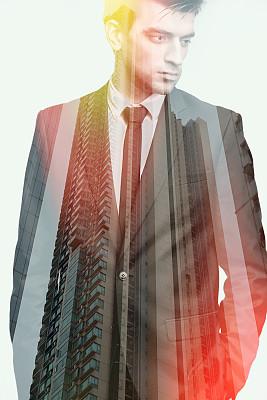 商务人士,青年人,垂直画幅,新加坡,套装,男商人,现代,白领,商业金融和工业