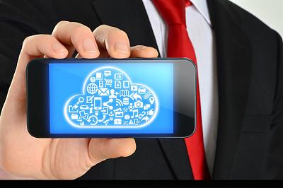 云计算,大于号,鼠标,未来,网络服务器,男商人,男性,仅男人,仅成年人,现代