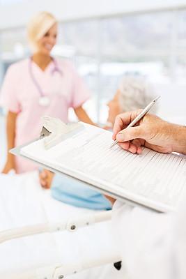 写字板,病历卡,病历,病房,垂直画幅,文档,仅成年人,青年人