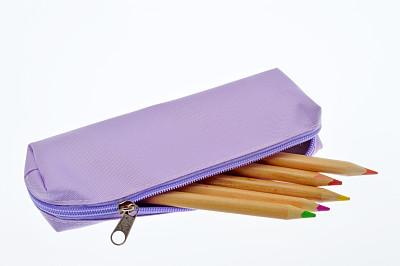 铅笔盒,水平画幅,纺织品,无人,特写,知识,学校,容器,彩色图片,柔和