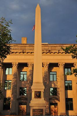 夏洛特,北卡罗来纳,法院,梅克伦堡前波莫瑞州,独立宣言,新古典派,建筑外部,美国,建筑,无人