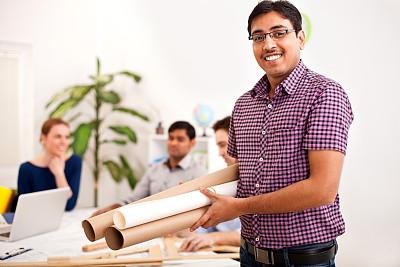 工程师,办公室,水平画幅,会议,印度人,人群,商务会议,白人,男商人,新创企业