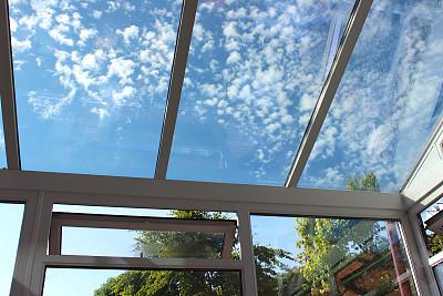 温室,屋顶,玻璃,个性,图像,糖衣蛋糕,钢化玻璃,阳光房,窗户,手工着色