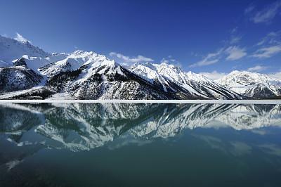 雪山,山脉,khumbu glacier,珠穆朗玛峰,冰瀑,水,留白,水平画幅,雪,无人