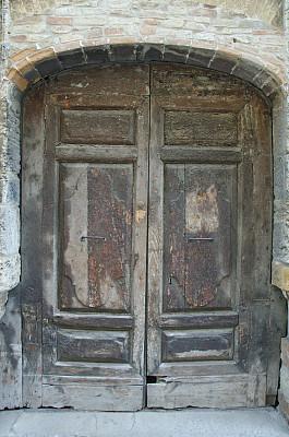 圣吉米尼亚诺,意大利,门,attila the hun,伊特鲁里亚风格,锡耶纳,垂直画幅,留白,门口,古典式