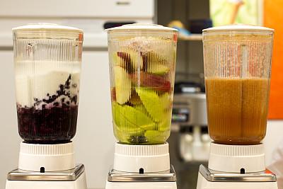 果汁,电动榨汁机,榨汁机,搅拌机,水平画幅,无人,饮料,沙冰,健康食物