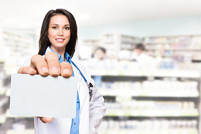 信用卡,药房,药剂师,垂直画幅,30到39岁,留白,少量人群,水平画幅,注视镜头