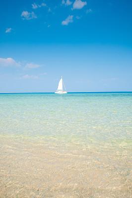 天空,沙子,海滩,海洋,自然美,鸡尾酒,莱雷海滩,玛雅文明,甲米,垂直画幅