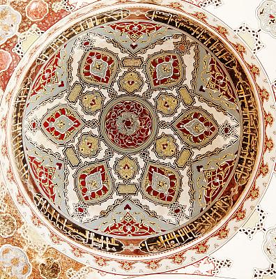 几何形状,式样,马略尔卡陶器,穹顶,垂直画幅,古董,艺术,墙,无人,古老的