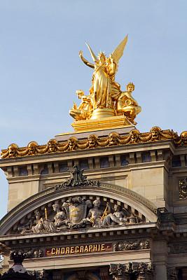 舞蹈,歌剧院广场,巴黎歌剧院,音乐厅,歌剧院,歌剧,科林斯式,铸铁,垂直画幅,纪念碑