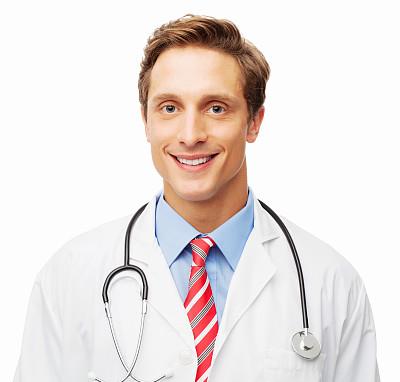 脖子,信心,听诊器,正面视角,留白,水平画幅,注视镜头,医疗工具,白人