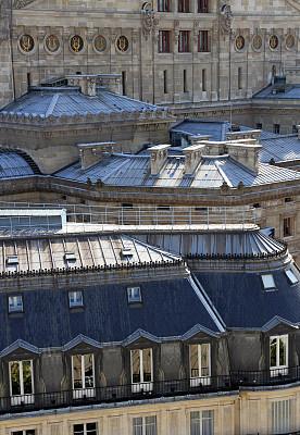 街道,拥挤的,巴黎歌剧院,歌剧院,垂直画幅,天空,外立面,无人,夏天,户外