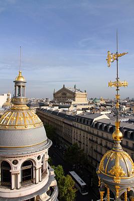 黄金,音乐,峡谷,歌剧院广场,巴黎歌剧院,歌剧院,音乐厅,歌剧,科林斯式,铸铁