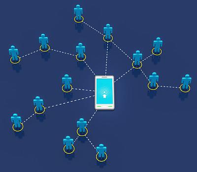 经理,想法,技术,商务,女人,绿色,便携式信息设备,社会化网络,移动式,触摸屏