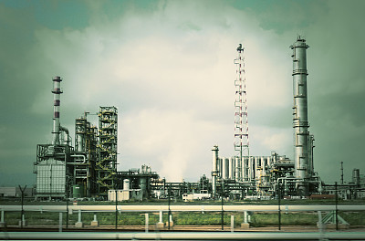 工业,石油化工厂,未来,仓库,水平画幅,工作场所,无人,化工厂,炼油厂,精炼厂