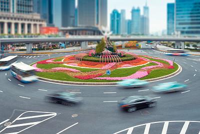 交通,组物体,天空,水平画幅,无人,缓慢的,陆用车,户外,多车道公路,沥青