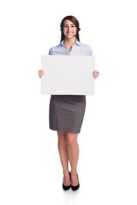 前台,拿着,标志,呼叫中心,垂直画幅,留白,服务业职位,销售职位,it技术支持,仅成年人
