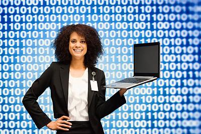 笔记本电脑,女商人,密码,黑客,计算机软件,安全,仅成年人,计算机语言,青年人,程序员