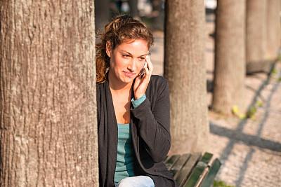 女人,棕色头发,拉丁文,可爱的,留白,半身像,夏天,仅成年人,青年人,人的脸部
