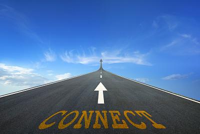 概念和主题,水平画幅,路,户外,箭头符号,云景,方向,想法,概念,沥青