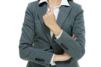 女商人,正下方视角,30到39岁,半身像,水平画幅,套装,白人,仅成年人,白领,成年的