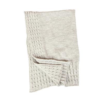 分离着色,婴儿毯,白色,毯子,灰色,小的,机织织物,婴儿,背景分离,方形画幅