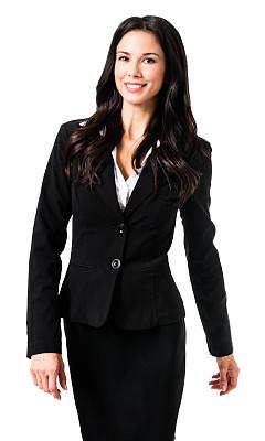 女商人,白色背景,分离着色,垂直画幅,讲师,注视镜头,指导教师,房地产经纪人,套装,高跟鞋
